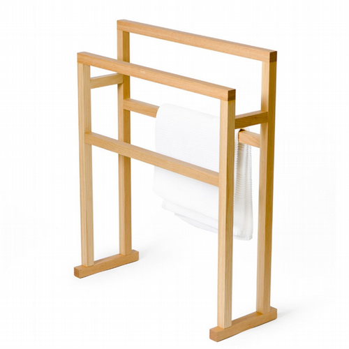 Natural Oak Towel Rail